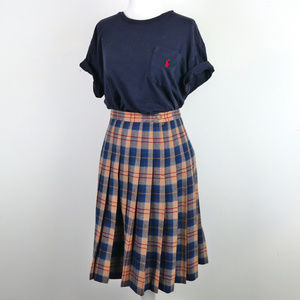 PENDLETON Pleated Authentic Pleated Tartan Skirt